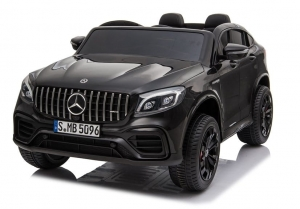 Auto na akumulator 2-os. Mercedes GLC 63S 4x45W Panel MP3 - czarny lakier